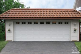 Sectional garage doors (3)